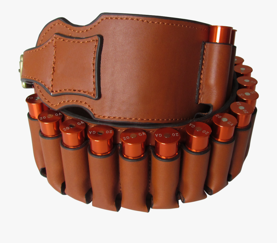 Bandolier clipart free stock Genuine Leather Shotgun Shell Holder Belt Ammo Cartridge - Bandolier ... free stock