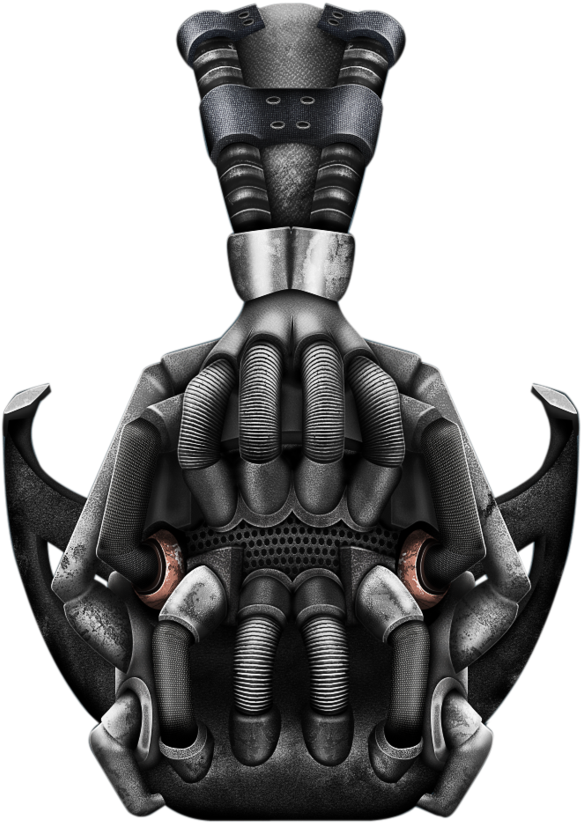 Bane mask clipart png black and white download Television & Film » Thread - Bane Mask Clipart - Png Download - Full ... png black and white download