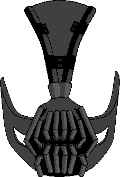 Bane mask clipart vector black and white library Free PNG images - DLPNG.com vector black and white library