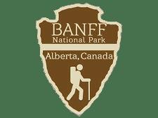 Banff national park clipart graphic transparent BANFF National Park Trail Logo transparent PNG - StickPNG graphic transparent