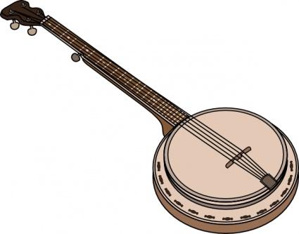 Banjo pictures clip art