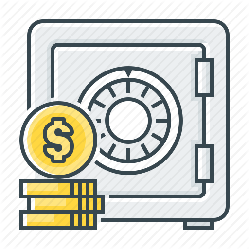 Bank account icon clipart vector black and white stock Money Icon clipart - Bank, Money, Yellow, transparent clip art vector black and white stock