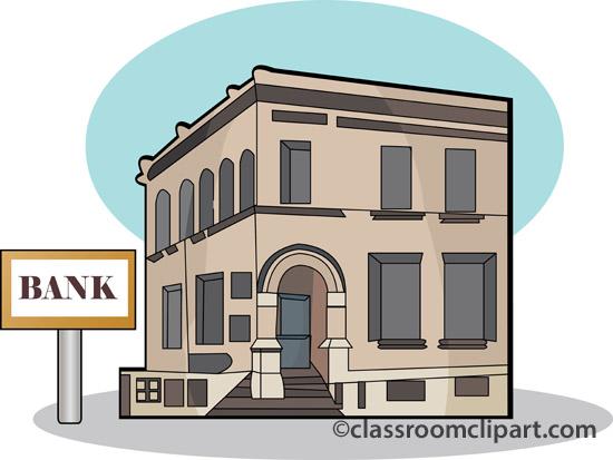 Bank branch clipart vector freeuse Bank clipart - ClipartFest vector freeuse