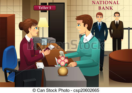 Bank cashier clipart clip library Bank teller Clip Art and Stock Illustrations. 730 Bank teller EPS ... clip library
