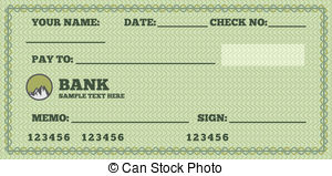 Bank checks clipart picture black and white download Bank checks clipart - ClipartFest picture black and white download