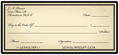 Bank checks clipart clipart freeuse stock Banking Graphics Gallery | Madlantern Arts clipart freeuse stock