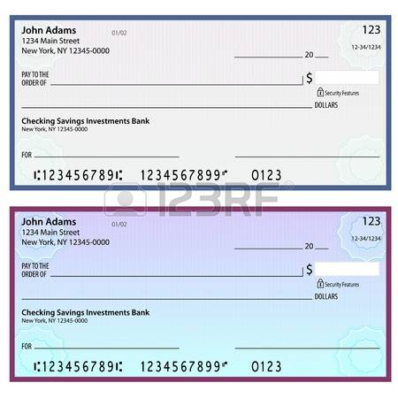 Bank checks clipart banner free stock 9,912 Bank Check Stock Vector Illustration And Royalty Free Bank ... banner free stock