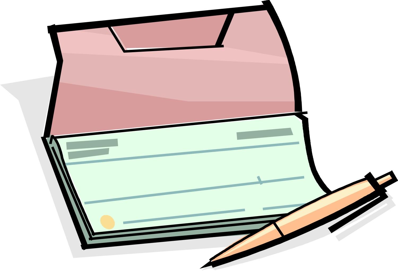 Bank checks clipart image transparent download Cheques Clip Art – Clipart Free Download image transparent download