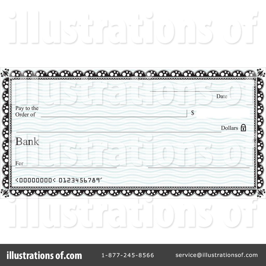 Bank checks clipart vector black and white stock Clipart bank check - ClipartFest vector black and white stock
