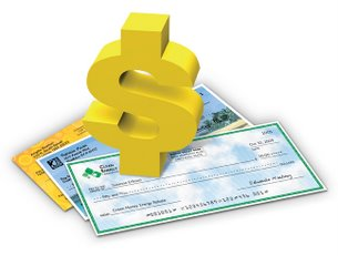 Bank checks clipart picture library library Bank checks clipart - ClipartFest picture library library