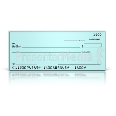 Bank checks clipart graphic black and white library Blank Check - Presentation Clipart - Great Clipart for ... graphic black and white library