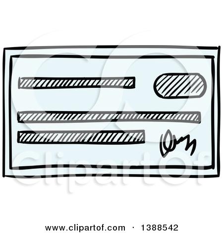 Bank checks clipart banner library stock Royalty-Free (RF) Bank Check Clipart, Illustrations, Vector ... banner library stock