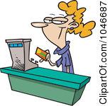 Bank clerk clipart clipart download Clerk clipart - ClipartFest clipart download