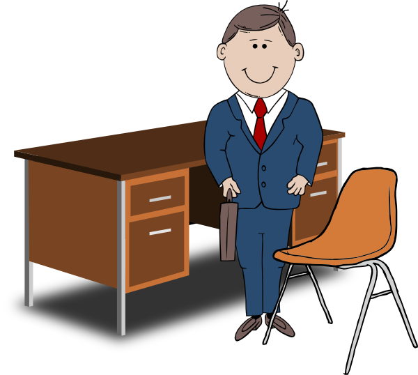 Bank clerk clipart clipart freeuse library Office Manager Clipart - Clipart Kid clipart freeuse library