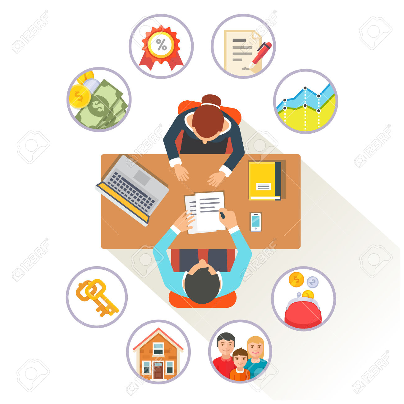 Bank clerk clipart jpg royalty free Bank Credit Stock Vector Illustration And Royalty Free Bank Credit ... jpg royalty free