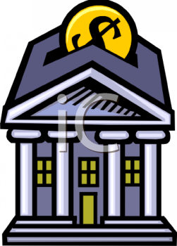 Bank clipart image black and white library Bank Clip Art & Bank Clip Art Clip Art Images - ClipartALL.com image black and white library