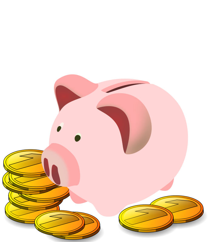 Stretch money clipart clipart free Food bank clip art free clipartlord free piggy bank - Clipartix clipart free