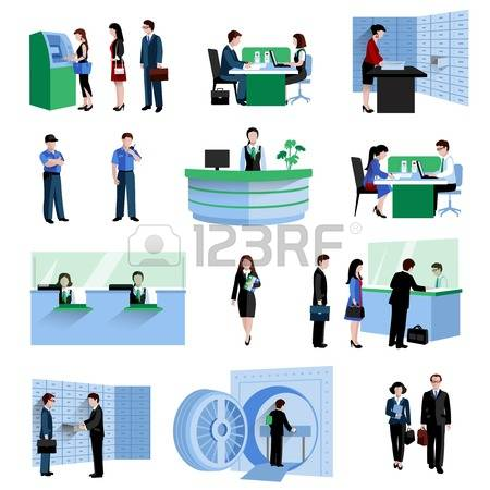 Bank customer clipart clip art black and white download 227,147 Banking Stock Illustrations, Cliparts And Royalty Free ... clip art black and white download