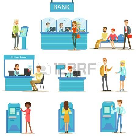 Bank customer service clipart picture transparent stock 843 Bank Consultant Cliparts, Stock Vector And Royalty Free Bank ... picture transparent stock