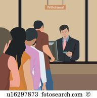 Bank deposit clipart. Illustrations and clip art