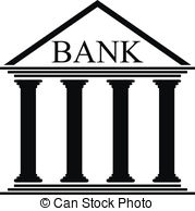 Bank icon clipart clip art royalty free stock Credit institution Clipart and Stock Illustrations. 292 Credit ... clip art royalty free stock