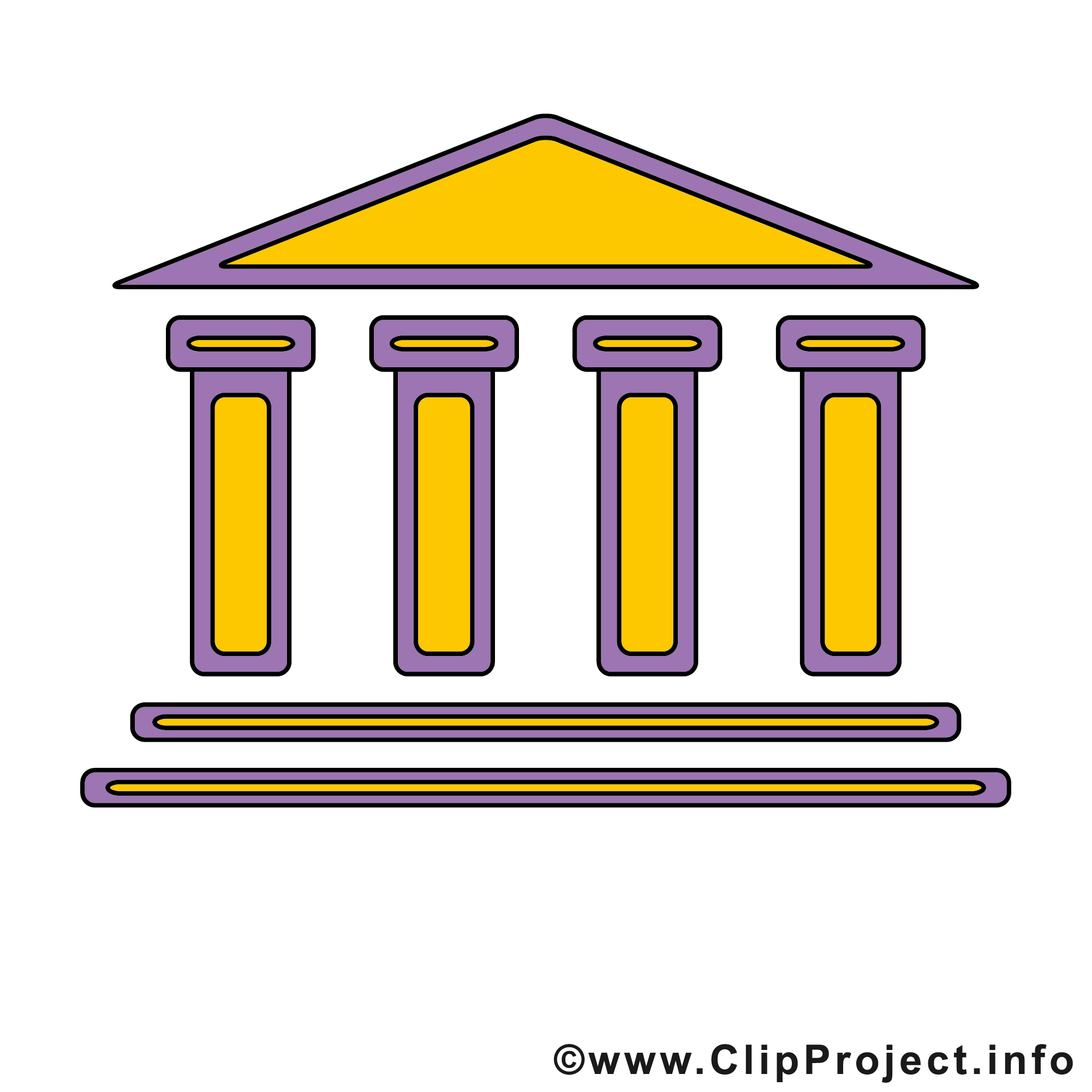 Bank icon clipart jpg black and white library Bank Clip Art & Bank Clip Art Clip Art Images - ClipartALL.com jpg black and white library