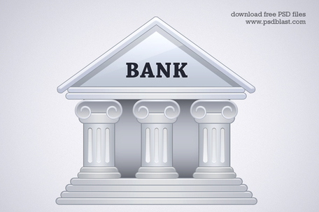 Bank icon clipart png Bank Building Icon (PSD), Vector File - Clipart.me png