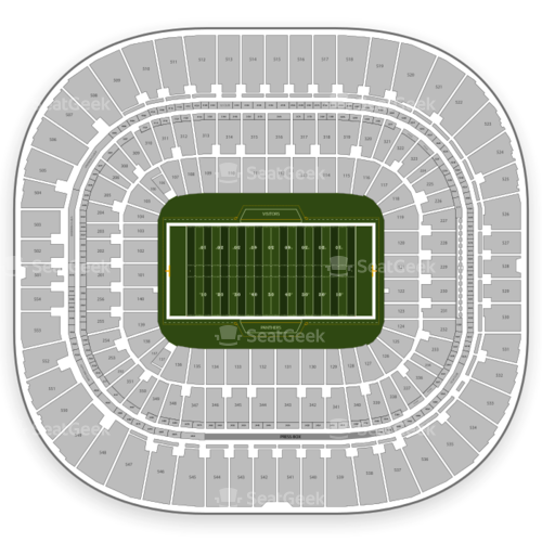 Bank of america stadium clipart royalty free download Bank of America Stadium Seating Chart | SeatGeek royalty free download