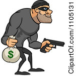 Bank robber clipart image free download Royalty-Free (RF) Bank Robbery Clipart, Illustrations, Vector ... image free download