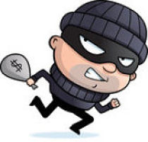 Bank robber clipart clip art royalty free download Clipart bank robber - ClipartFest clip art royalty free download