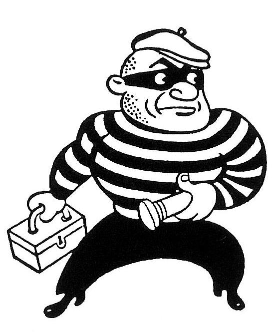 Robbery cartoon best download. Bank robber clipart free