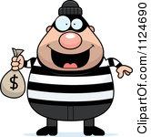 Dog robbing a royalty. Bank robber clipart free