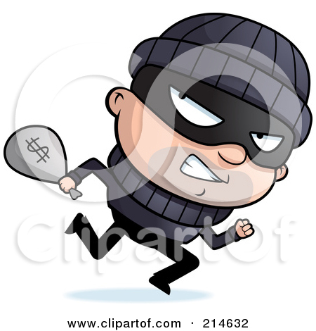 Bank robber clipart free jpg freeuse stock Clipart Buff Bank Robber Carrying A Money Bag And Pistol - Royalty ... jpg freeuse stock