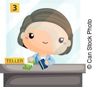 Bank teller clipart free vector download Bank teller Clip Art and Stock Illustrations. 730 Bank teller EPS ... vector download