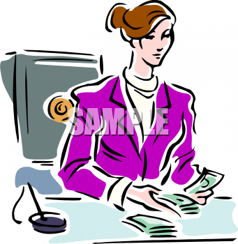 Bank teller clipart free png freeuse library Cartoon Bank Teller Clipart - Clipart Kid png freeuse library