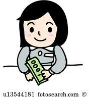 Bank teller clipart free png transparent Bank teller Clipart Royalty Free. 418 bank teller clip art vector ... png transparent
