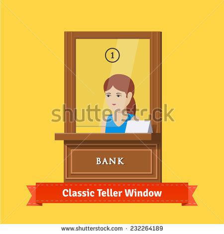 Bank teller clipart free svg transparent library Bank Teller Stock Vectors, Images & Vector Art   Shutterstock svg transparent library