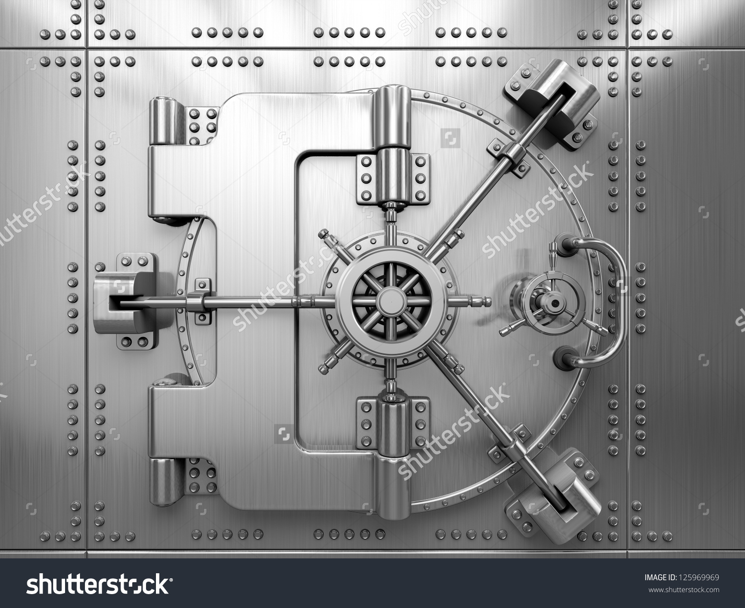Bank vault door clipart png royalty free stock Bank Vault Door Stock Illustration 125969969 - Shutterstock png royalty free stock