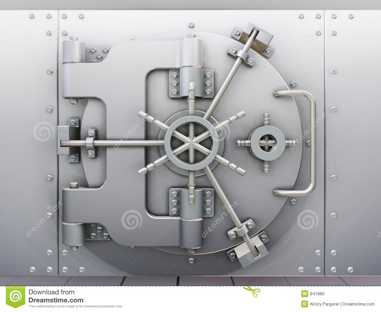 Bank vault door clipart svg library library Bank Vault Stock Photo - Image: 841880 svg library library