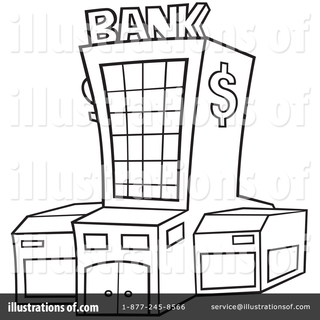 Banker clipart coloring png freeuse download Bank Clip Art Free | Clipart Panda - Free Clipart Images png freeuse download