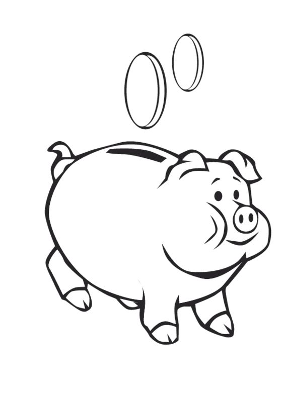 Banker clipart coloring jpg black and white Bank Drawing | Free download best Bank Drawing on ClipArtMag.com jpg black and white