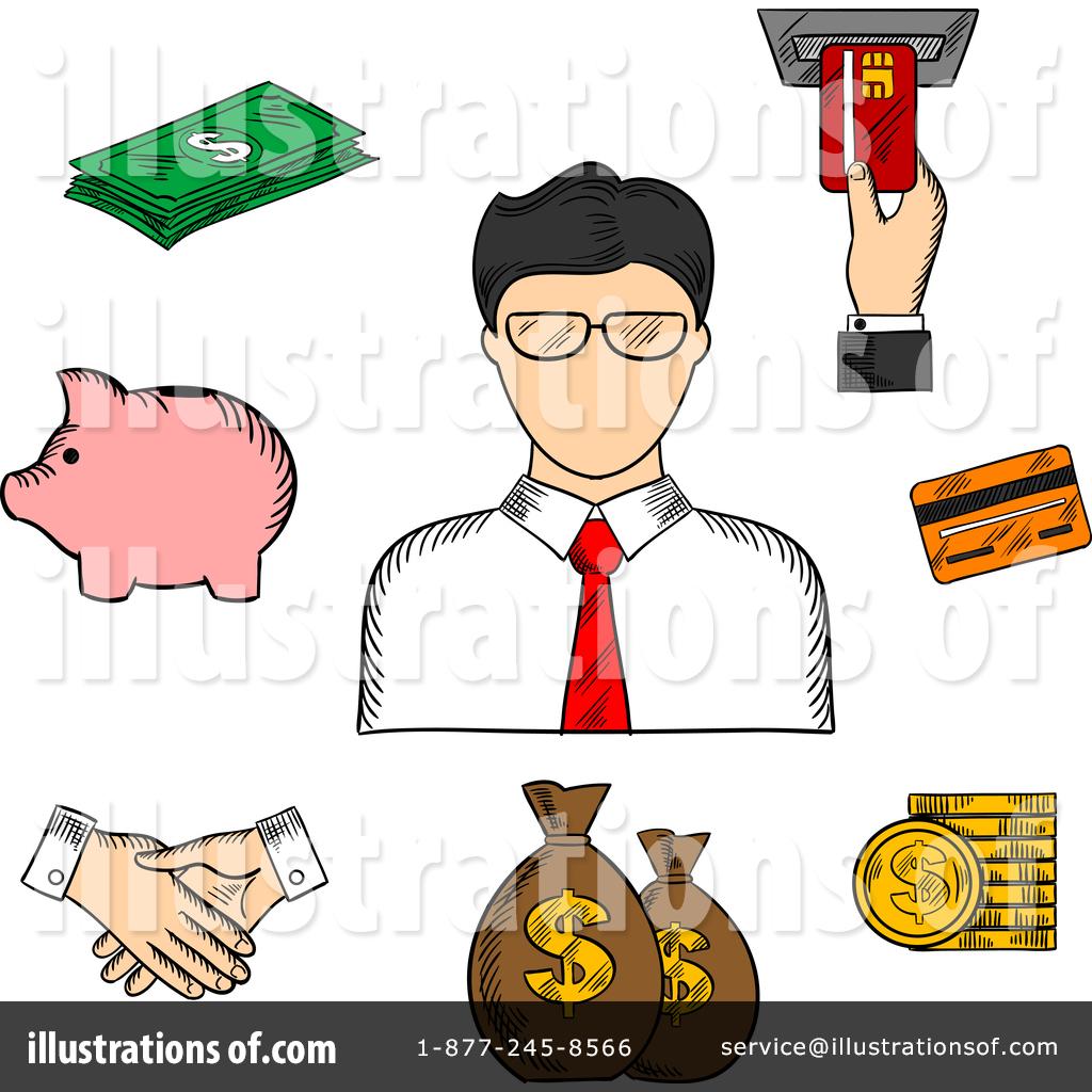 Banker clipart illustration png royalty free stock Banker Clipart #1377878 - Illustration by Vector Tradition SM png royalty free stock