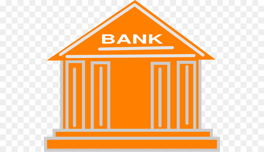 Banks in clipart graphic library library Bank Cartoon clipart - Bank, Finance, Orange, transparent clip art graphic library library