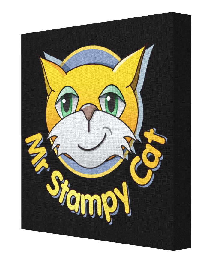 Banksy clipart cat clip royalty free stock Minecraft Stampy Cat Canvas | Minecraft Stampy Cat - Pics On Canvas clip royalty free stock