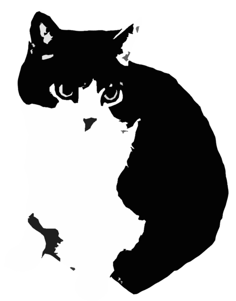 Banksy clipart cat png black and white stencil cat - Google-Suche | Stencil art | Pinterest | Stenciling png black and white
