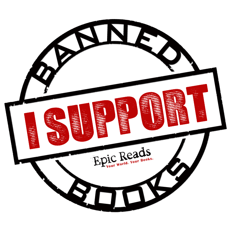 Banned book clipart freeuse download Epic Reads Celebrates Banned Books Week freeuse download