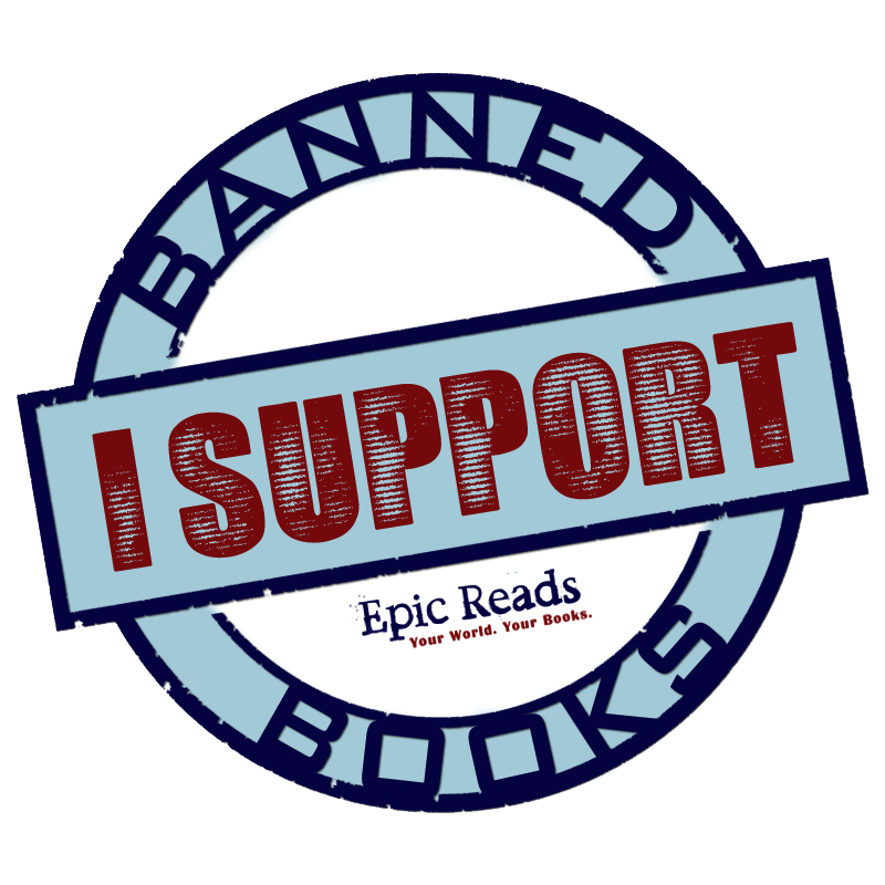 Banned book clipart clip royalty free library Epic Reads Celebrates Banned Books Week clip royalty free library