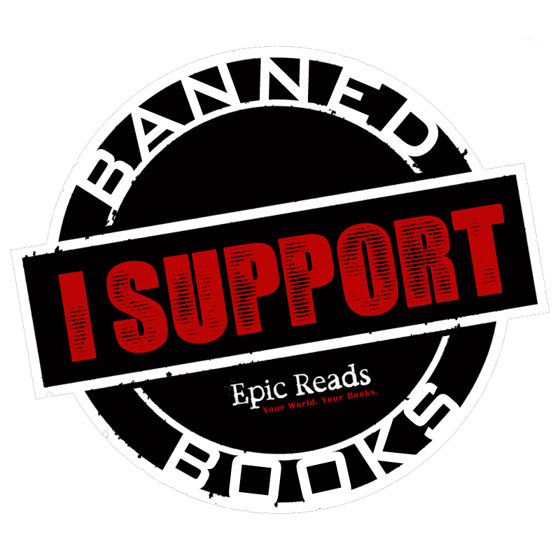 Banned book clipart picture freeuse library Epic Reads Celebrates Banned Books Week picture freeuse library