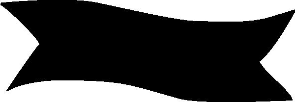 Banner clipart black clip black and white stock Black Banner Clipart   Free download best Black Banner Clipart on ... clip black and white stock
