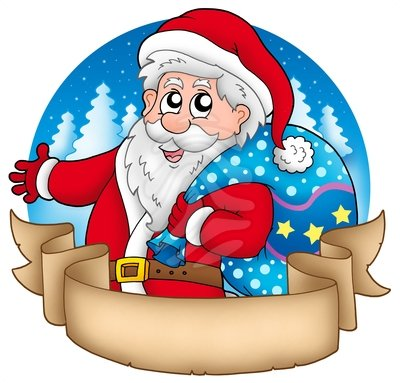 Banner with santa clipart jpg free stock Free Santa Images, Download Free Clip Art, Free Clip Art on Clipart ... jpg free stock